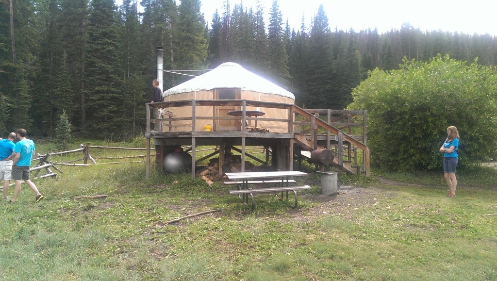 Yurt I Stayed In
