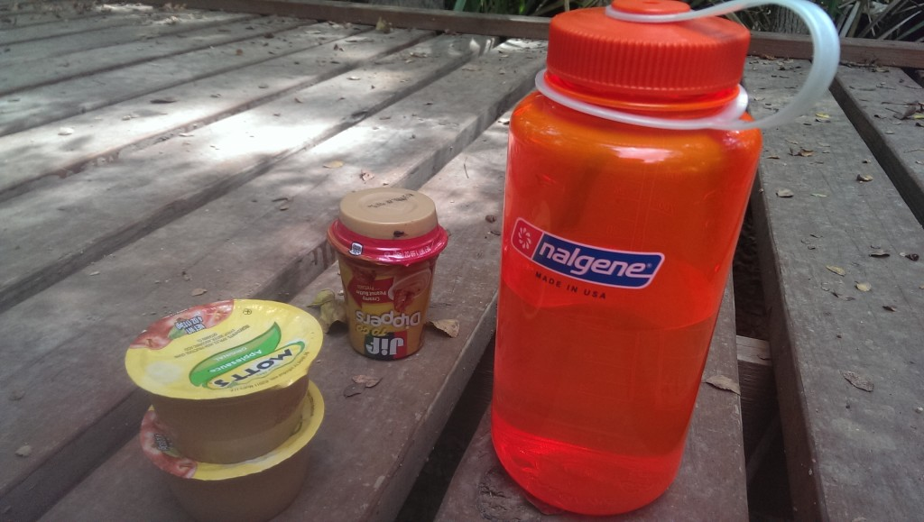 Trail lunch.